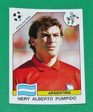 N°115 PUMPIDO ARGENTINA PANINI COUPE MONDE FOOTBALL ITALIA 90 1990 WC WM