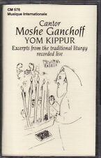 Moshe Ganchoff - Yom Kippur (Cassette, 1996, CM-576) NEW Cantor