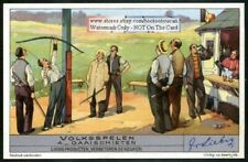 Shooting Perches A STRANGE Archery Game c1930s Trade Ad Card
