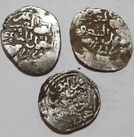 SAADIAN Dynasty THREE COINS LOT High grade Islamic Collection Scarce Types ATLAS