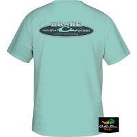 DRAKE WATERFOWL SURF T GRAPHIC LOGO S/S T-SHIRT TEE CELADON GREEN MEDIUM