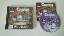 CASPER FRIENDS AROUND THE WORLD - SONY PLAYSTATION - JEU PS1 PSX COMPLET