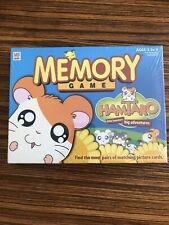 Hamtaro Hamster Memory Game Milton Bradley Vintage Hasbro 2002 Age 3-6