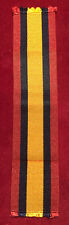 British Medal Ribbon QSA Approx 6 ins Army Military Full Size