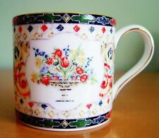 WEDGWOOD  Harlequin Jewel  Coffee Mug Cup.  Beauty!  Unique!