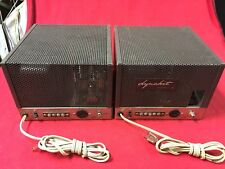 Classic Pair of Dynaco MK III MK 3 60 Watt KT88/6550 GZ34 Mono Block Amplifiers
