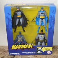 Batman Through the Ages Boxed Action Figure Gift Set + Comic 2007 Alex Ross