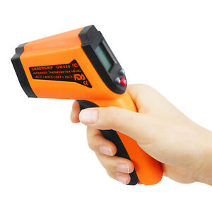 Digital Non Contact Laser Infrared Thermometer GM400
