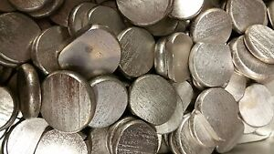 Pure Nickel Discs 99,9% Ni - Nickel 250 g/500 g /1 kg