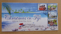 2016 FIJI CHRISTMAS 4 STAMPS FIRST DAY COVER FDC