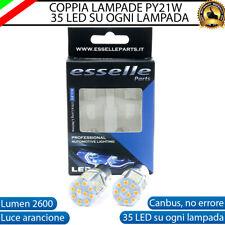 COPPIA LAMPADE FRECCE ANTERIORI LED VOLVO C70 I PY21W BAU15S CANBUS NO AVARIA