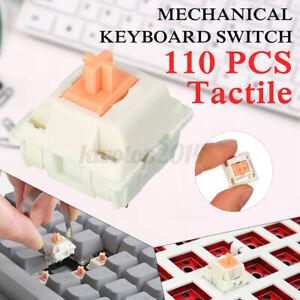 FEKER110 Pcs New Mechanical Key Switches Tactile Holy Panda Switches Like
