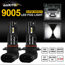 2X Auxito 9005 Hb3 Led Fog Light Car Driving Bulbs Replace Halogen High Power