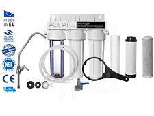 Premium 3 FASI CASA sotto lavello depuratore d'acqua e dechlorinator KIT FILTRO