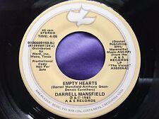 Rare Xian 45 : Darrell Mansfield ~ Empty Hearts ~ A & S 9106689159 D J Copy