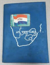 """""""At thy call..."""" booklet for immagrants to South Africa 1960's"""