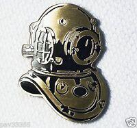 2006 Saffier & Stekelsteef Diving Helmet - Antique Bronze - Unactivated Geocoin