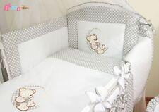 Lit  120x60 cm pour bébé matelas  (set complet) set XL de 8 pièces,parure