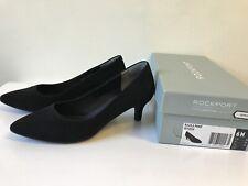 Rockport Pumps Shoes Women Black Suede Size 6M