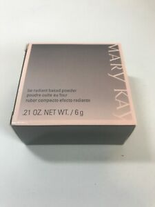 Mary Kay Be Radiant Baked Powder Dawn 037394 NIB 0.21 Oz