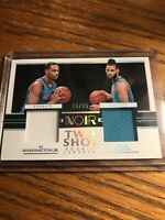 2020 NOIR PJ Washington Cody Martin Two Shot  ROOKIE jersey/99