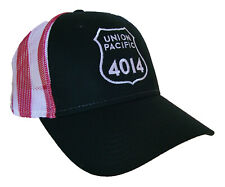 Union Pacific 4014 Big Boy Steam Locomotive Flag Mesh Cap Hat #40-4014FM