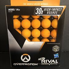 NERF Rival Overwatch Balls 30x High Impact Rounds Pack Refill Bullets