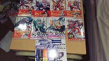 NEW JAPANESE Overlap Izuru Yumizuru Light Novel: IS Infinite Stratos 1~9 Set