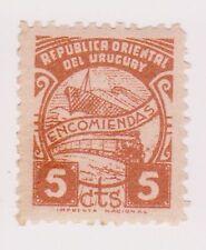 (UGA-168) 1938 Uruguay 5c brown parcel post (brown gum) (R)