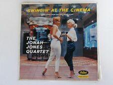 THE JONAH JONES QUARTET Swingin' At The Cinema - 1958 Mono LP