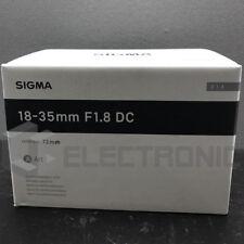 Sigma Objektiv Af-s 18-35mm F1 8 DC HSM Nikon