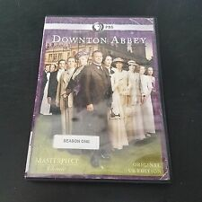 Masterpiece Classic Downton Abbey the First Season 1 one ex library 3 DVD Set