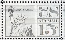 US C63 @ (1961) 15c -MNH/OGnh - EFO: {99% -Orange Omitted} One stamp on Sheet