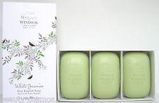 Woods of Windsor White Jasmine 3x100g perfumed Soap/Seife