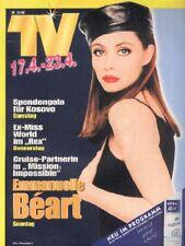 EMMANUELLE BEART TOM CRUISE JURASSIC PARK Austrian Mag