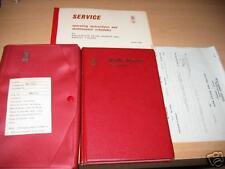 1968 1969 ROLLS ROYCE SILVER SHADOW OWNERS MANUAL SET