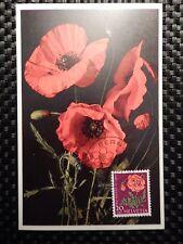 SCHWEIZ MK 1959 689 BLUMEN MOHN FLOWERS MAXIMUMKARTE MAXIMUM CARD MC CM a7783