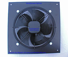 Axial Ventilator / Wandventilator / Lüfter 2500 m³/h für Lüftung Abluft Kühlung