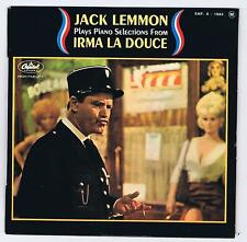 45 RPM EP JACK LEMMON PLAYS PIANO FROM IRMA LA DOUCE