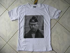 T-shirt russe président de RUSSIE Vladimir POUTINE blanc T.M   N 120