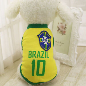 M Yellow Summer Pets Clothes Vest Coat T Shirt Jacket Clothing For Dogs Cats