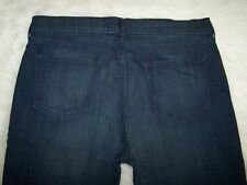 Womens Old Navy The Sweetheart Blue Denim Jeans Size 16 Regular Stretch EUC