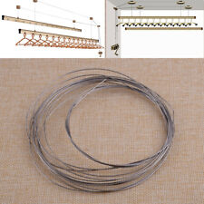 5M 1mm 304 Stainless Steel Wire Rope Cable Bright Single Hanging Fastening Craft