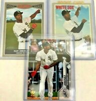 Eloy Jimenez Lot (4) Cards 2019 Topps Heritage Rookie RC 2020 Topps Series 1 (2)