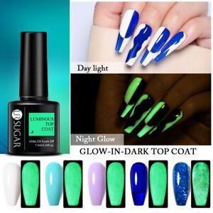 UR SUGAR Gel Nail Polish Luminous Top Coat Soak Off UV LED Nail Art Gel Varnish