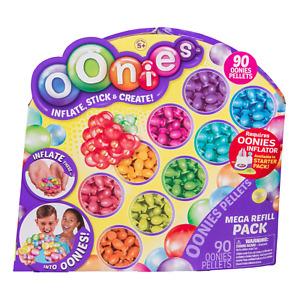 Oonies Mega Refill Pack Balloons Refills Packs 90 Pellet Pellets NEW