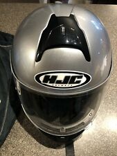 HJC CL -16 helmet, Color Gray And Black In Very Good Condition