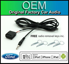 Ford Focus AUX lead, Ford Sony STEREO AUTO AUX in Cavo iPod iPhone Android