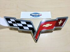New OEM Front Fascia Emblem - 2008-2012 Chevrolet Corvette (22901567)