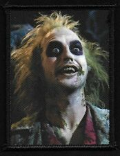 BEETLEJUICE 80s Cult Classic Horror Film Monster Movie Collectors Patch